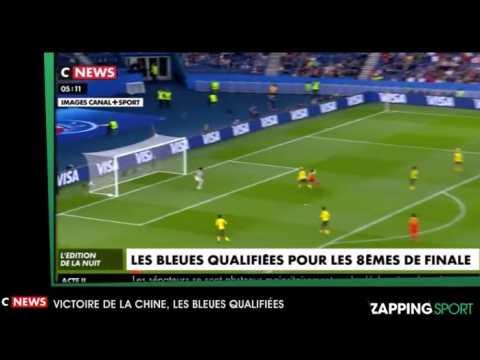 Zap sport du 14 juin : Victoire de la Chine, les Bleues qualifiées pour les 8èmes de finale (vidéo)