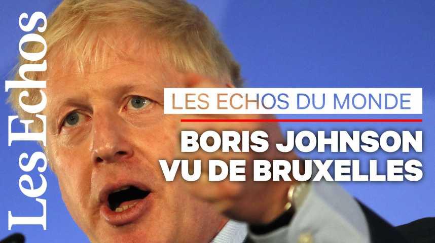 Illustration pour la vidéo Brexit : comment les Européens se préparent au scénario Boris Johnson