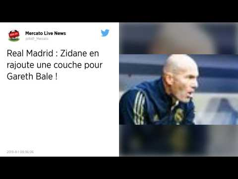 Real Madrid : Zidane lance un avertissement à Gareth Bale !