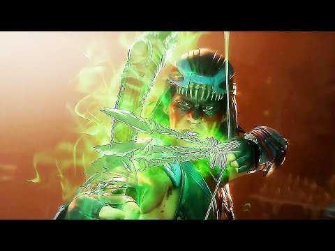 "MORTAL KOMBAT 11 ""Kombat Pack Nightwolf"" Gameplay Trailer (2019) PS4 / Xbox One / PC"