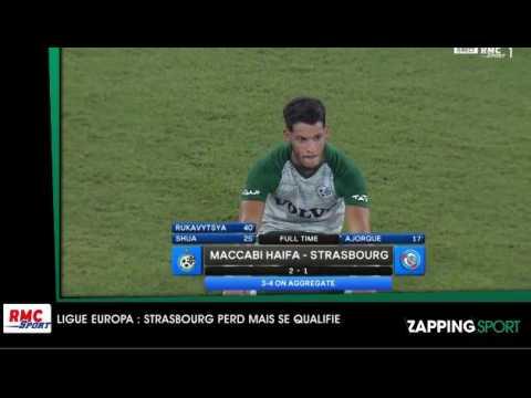 Zap sport du 2 aout - Ligue Europa : Strasbourg perd mais se qualifie (vidéo)