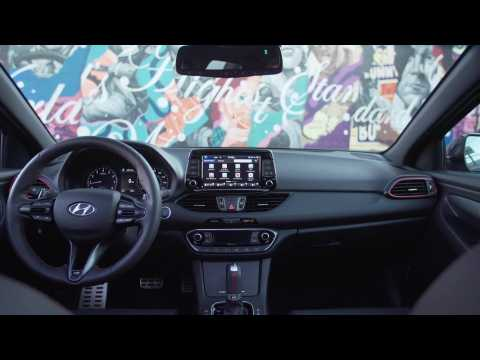 2020 Hyundai Elantra GT N Line Interior Design