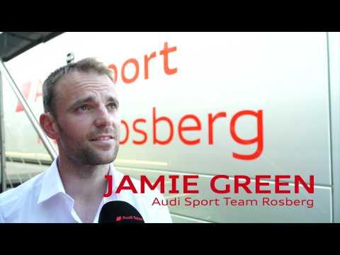 2019 Audi DTM Track Talk - Jamie Green about Brands Hatch