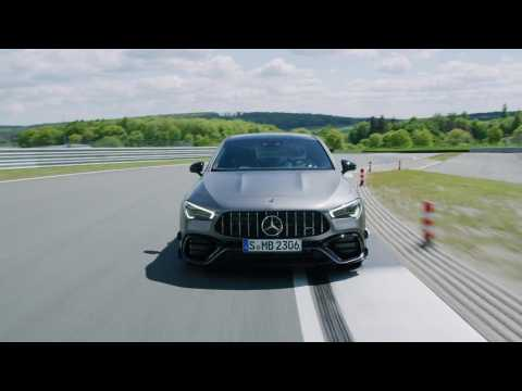 Mercedes-AMG CLA 45 S 4MATIC+ Coupé Driving Video