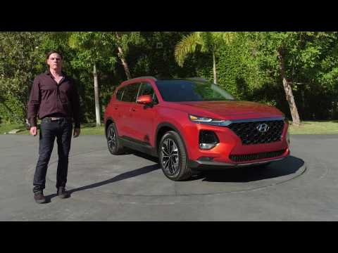 2020 Hyundai Santa Fe Design Overview with Andrew Moir