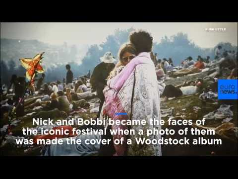 Watch: Woodstock album cover couple still together 50 years on