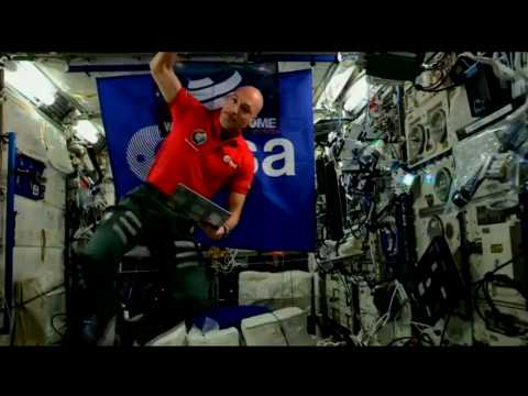 Astronaut performs first-ever DJ set from space