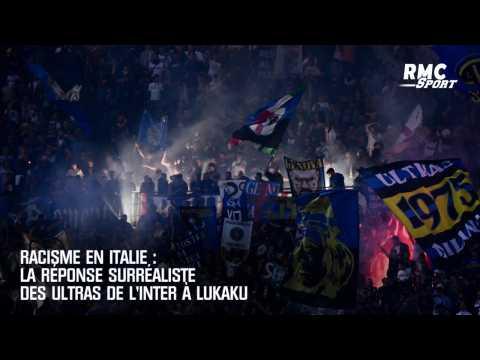 Racisme en Italie : la réponse surréaliste des Ultras de l'Inter à Lukaku