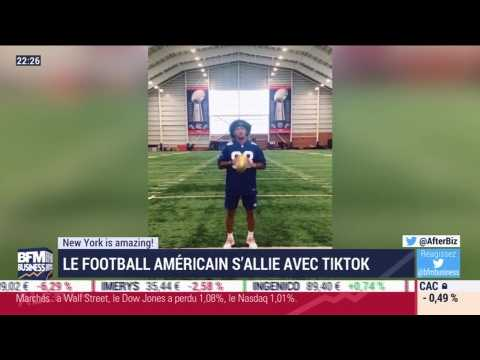 New York is amazing: Le football américain s'allie avec TikTok - 03/09