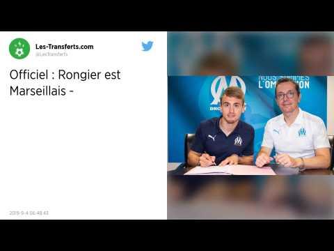 Mercato : L'Olympique de Marseille officialise l'arrivée de Valentin Rongier
