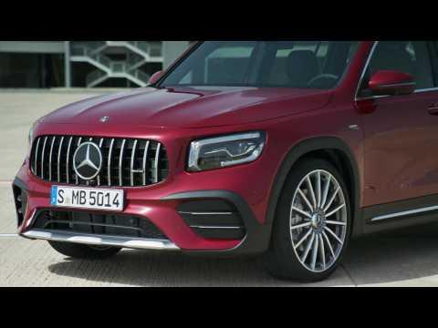 The new Mercedes-AMG GLB 35 4MATIC Design