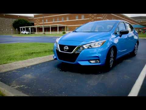 Nissan Rear Door Alert on 2020 Nissan Versa