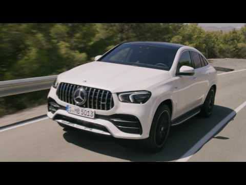 The new Mercedes-AMG GLE 53 4MATIC+ Coupé Driving Video