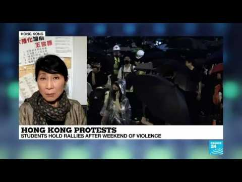 """Hong Kong: """"The young protesters are being pushed to a point of no-return"""""""