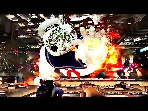 GHOSTBUSTERS THE VIDEO GAME REMASTERED Dan Aykroyd Gameplay Trailer (2019) PS4 / Xbox One / PC