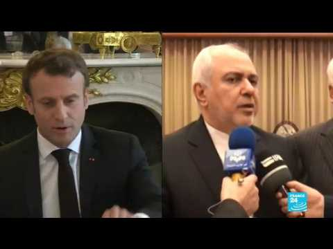 Macron to host top Iranian diplomat in Paris before G7