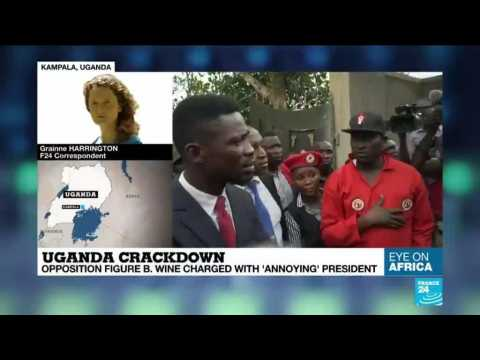 Uganda crackdown charges mounted against Bobi Wine analysis by Grainne Harrington