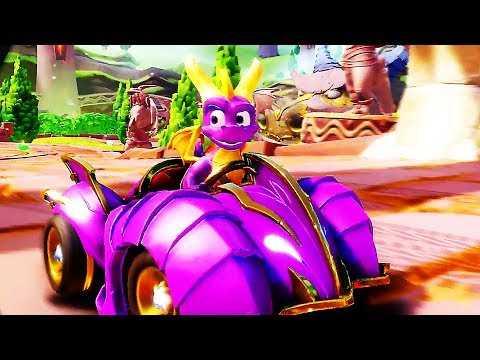 "CRASH TEAM RACING NITRO-FUELED ""Spyro Grand Prix"" (2019) PS4 / Xbox One"