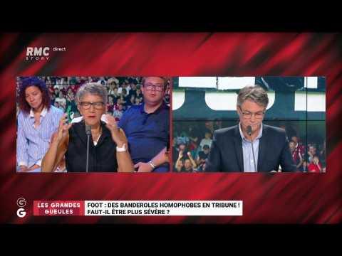 Des banderoles homophobes hier soir en Ligue 1, faut-il être plus sévère ? - 29/08