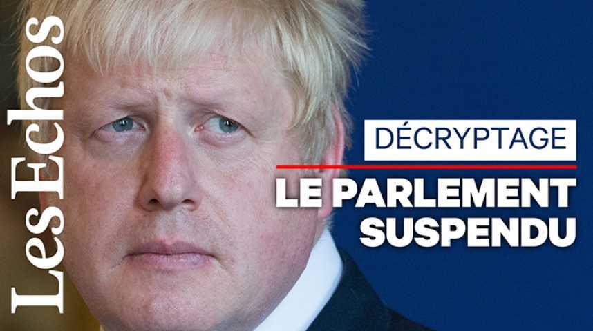 Illustration pour la vidéo En quoi consiste la « suspension du Parlement » décidée par Boris Johnson ?