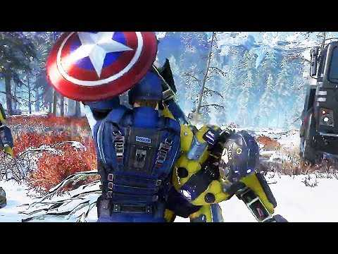 """MARVEL'S AVENGERS """"Captain America"""" Gameplay Trailer (2020) PS4 / Xbox One / PC"""