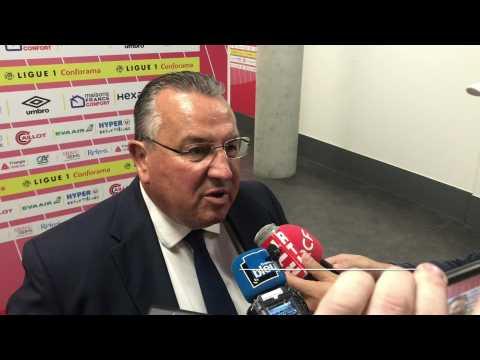 Pour Jean-Pierre Caillot, le Stade de Reims a pris un bon point face à Strasbourg