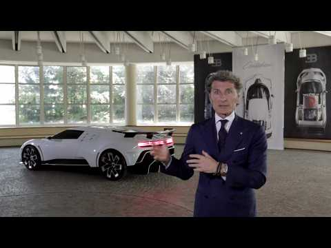 World Premiere of Bugatti Centodieci - Interview Stephan Winkelmann
