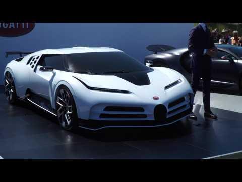 World Premiere of Bugatti Centodieci - Press Conference Cutdown