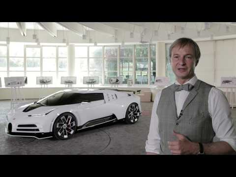 World Premiere of Bugatti Centodieci - Interview Achim Anscheidt