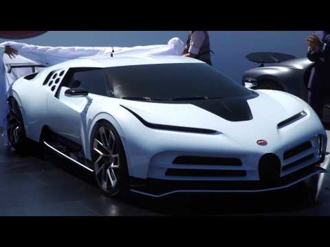 World Premiere of Bugatti Centodieci