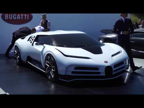 Bugatti Centodieci unveiled at Pebble Beach Car Show 2019