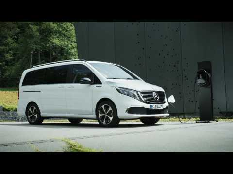 Mercedes-Benz EQV - World Premiere for the first fully-electric premium MPV