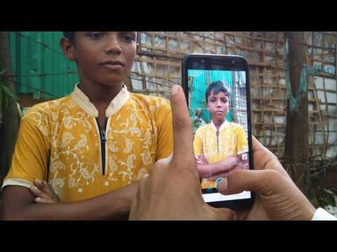 Rohingya youth shares his story on social media