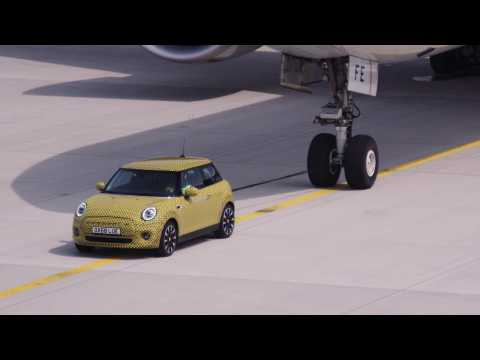 The New MINI Electric. The Muscle Car