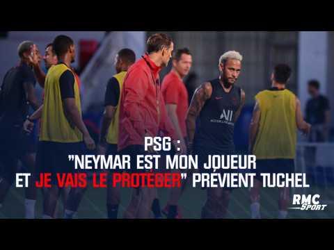 """PSG : """"Neymar est mon joueur et je vais le protéger"""" prévient Tuchel"""