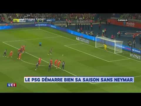 PSG : l'accueil hostile du Parc des Princes à Neymar