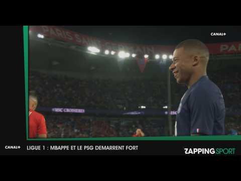 Zap Sport du 12 aout : Le PSG écrase Nîmes (vidéo)