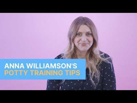 The Five Potty Training Tips That Anna Williamson Swears By