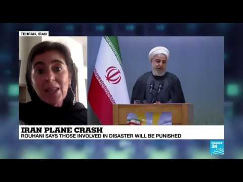 Rouhani: Those responsible for Iran plane crash will be punished