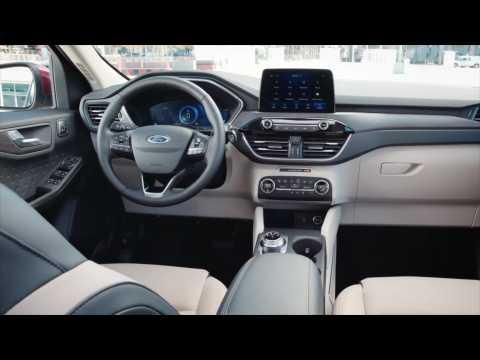 The-all new 2020 Ford Escape Interior design