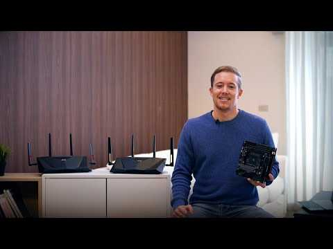 Upgrade your router with WiFi 6 motherboard–WiFi 5 vs. WiFi 6 Router Speed Comparison Test | ASUS