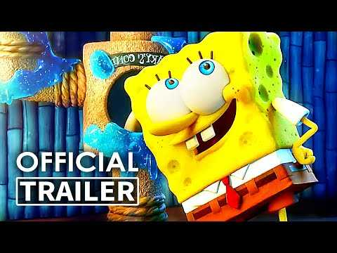 THE SPONGEBOB MOVIE 3 Trailer # 2 (2020) Keanu Reeves, Sponge on the Run