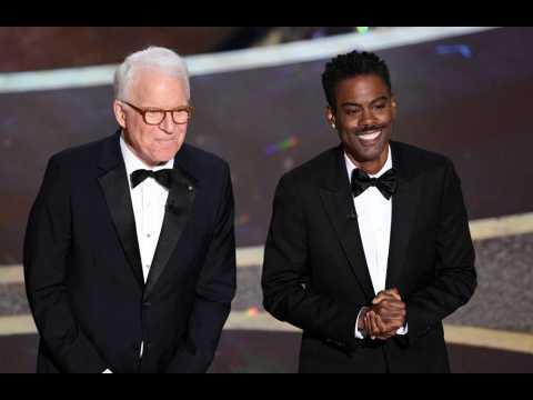 Steve Martin and Chris Rock joke Oscars went hostless because of Twitter