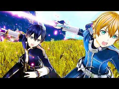 "SWORD ART ONLINE ALICIZATION ""Lycoris New Character & Battle System"" Trailer (2020) PS4"
