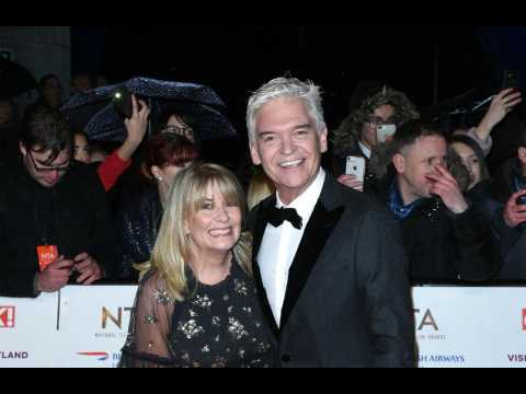 Phillip Schofield's wife vows to support and stand by him
