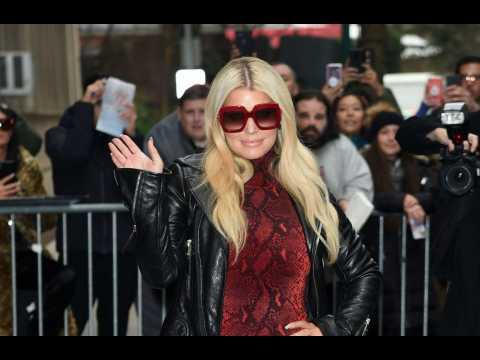 Jessica Simpson book event disrupted by protesters