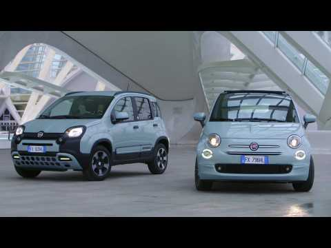 Fiat 500 and Panda Hybrid Edition Seaqual Design Preview