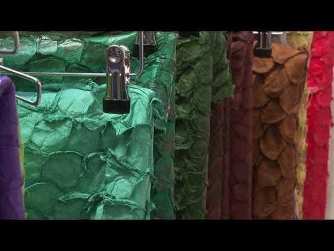 Future Fabrics expo aims to revolutionise fashion with materials