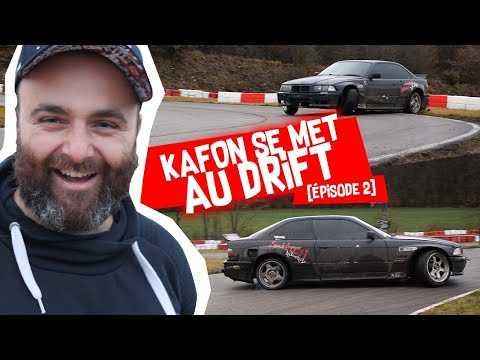 KAFON SE MET AU DRIFT #2 : Il a fracassée la e36 ! (crash, rotule, etc.)