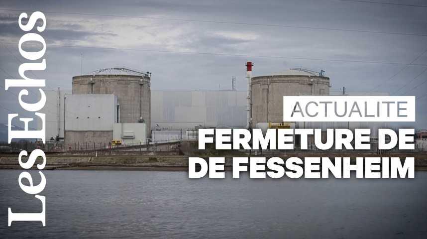Illustration pour la vidéo Nucléaire : la fermeture de Fessenheim va pouvoir commencer